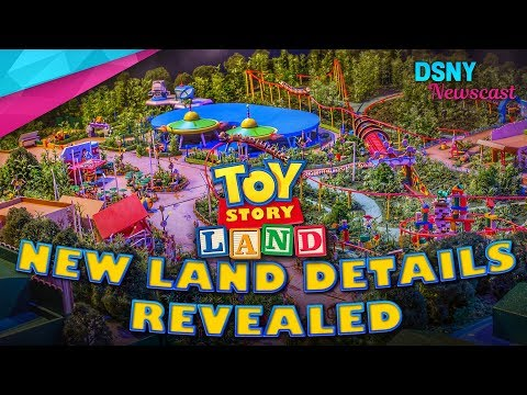 NEW Land Details Revealed for Toy Story Land at Walt Disney World - Disney News - 9/15/17