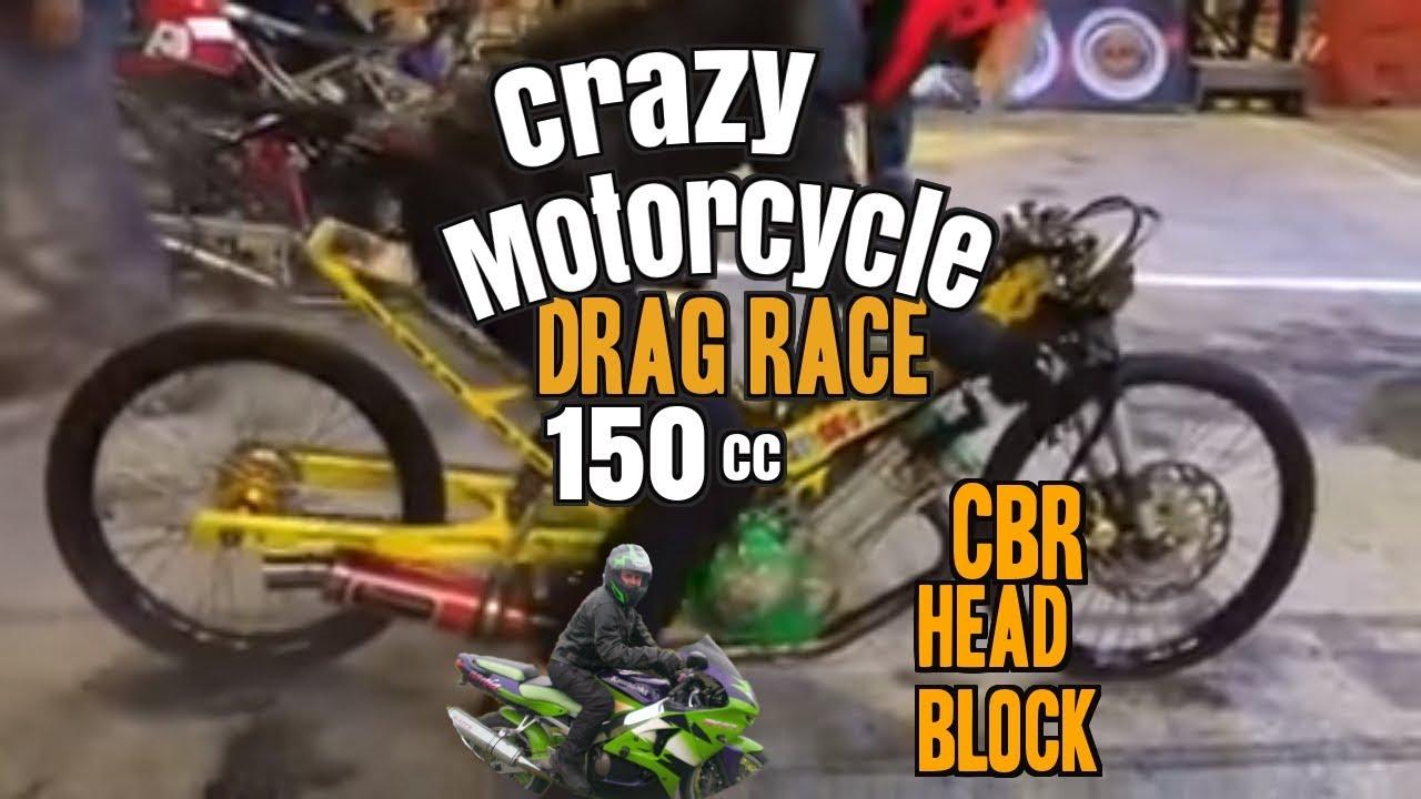150cc pro motorcycle drag racing motorcycle borneo drag