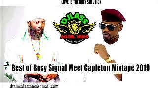 Busy Signal Meet Capleton Best Of Reggae Mixtape (Part 1) (April 2019)