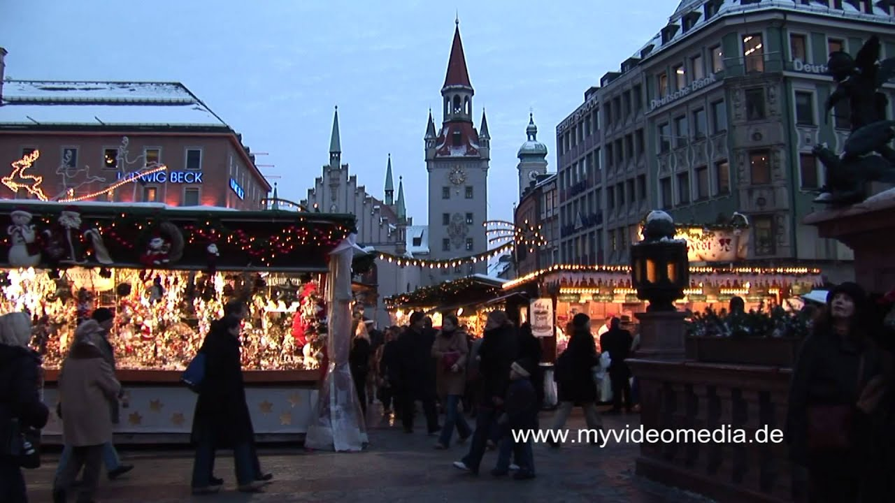 weihnachtsmarkt m nchen germany hd travel channel youtube. Black Bedroom Furniture Sets. Home Design Ideas