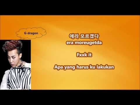 BIGBANG - FXXK IT with Malay | Eng | Han | Rom lyrics