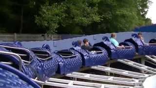 Blauer Drache (Onride) Video Fort Fun Abenteuerland 2013