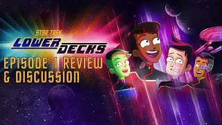 "Star Trek: Lower Decks s01e01 ""Second Contact"" LIVE REVIEW"