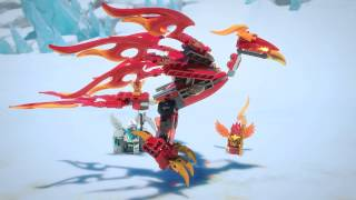 Lego 70221 | Chima | Flinx\s Ultimate Phoenix | 3D Review