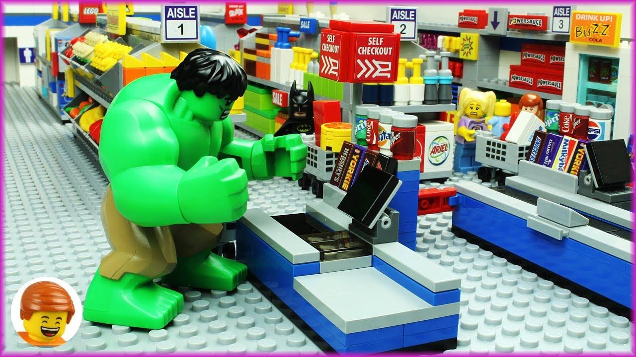 Lego Hulk Shopping Fail #1