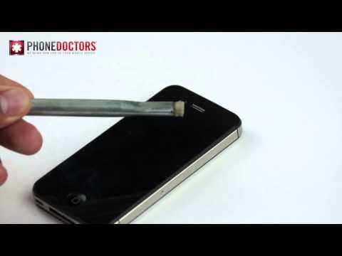 Phone Doctors Tech Tip - iPhone Ear Speaker Clean Up
