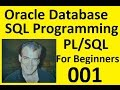 Part I Oracle 11g Database SQL Programming with PL/SQL in 2016 Beginners How To Express Version