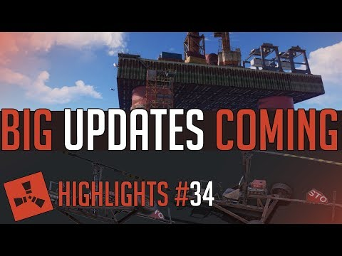A New Monument AND Vehicle?! (Rust Highlights #34)