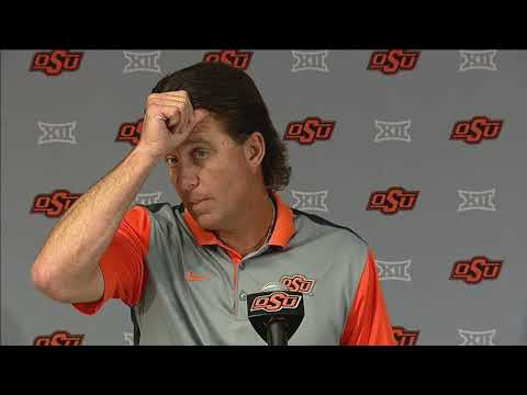 Mike Gundy News Conference (8/25/2017)