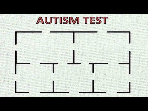 Solving the 5-Room-Puzzle / Autism Test