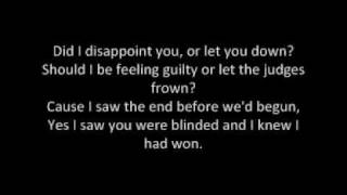 Repeat youtube video James Blunt - Goodbye My Lover (Lyrics)