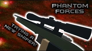 Roblox Phantom Forces - Trying A New Sniper! (Remington 700) - #7 - Live Commentary