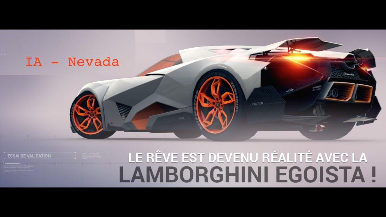 Asphalt 8 Lamborghini Egoista Defi Ia Youtube