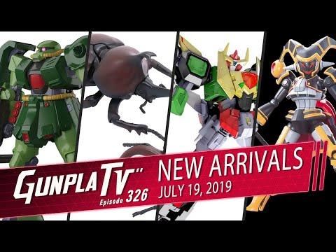 New Plamo Arrivals for July 19th | Gunpla TV 326