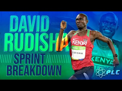 David Rudisha 800m Sprint Breakdown on the First 400m and Last 400m