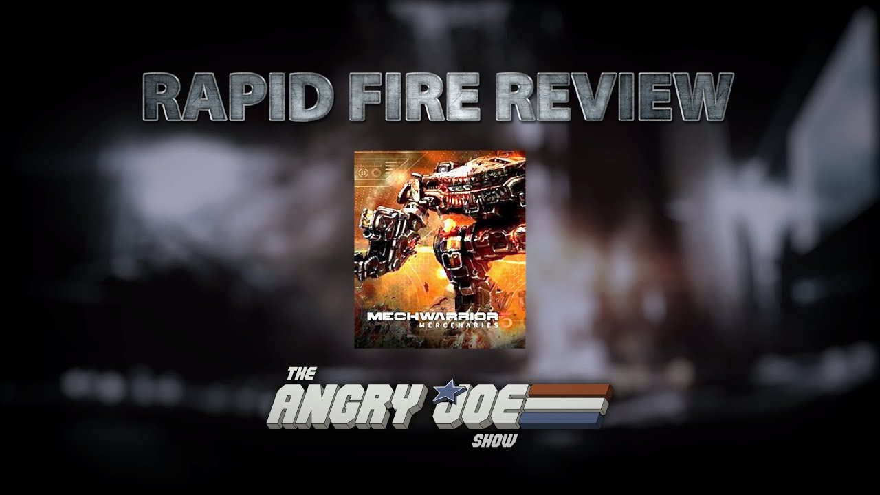 Mechwarrior 5 Mercenaries - Rapid Fire Review (Video Game Video Review)