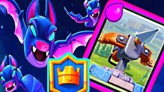 NEW X-BATS Deck! BATS & XBOW! - Clash Royale