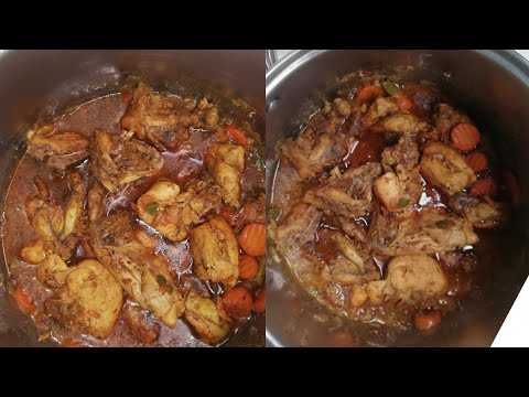 Cook with me:Chicken stew:South African Youtuber
