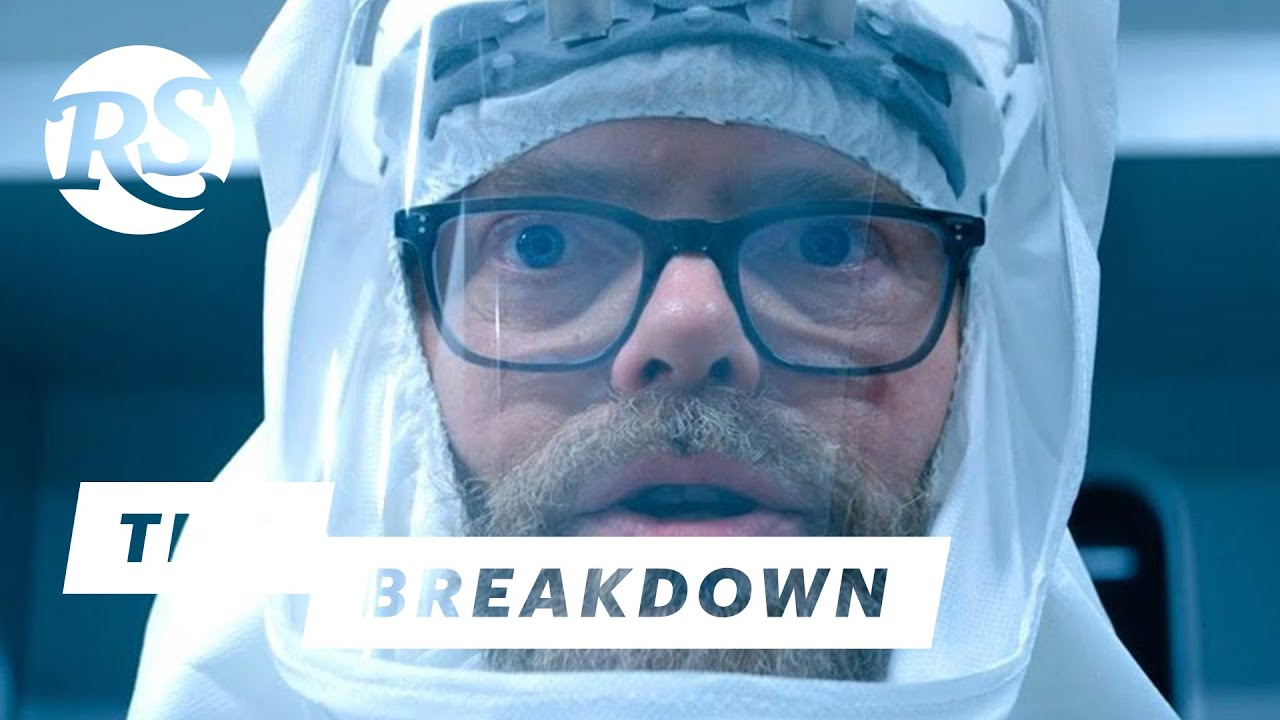 Rainn Wilson on Gillian Flynn's Utopia | The Breakdown