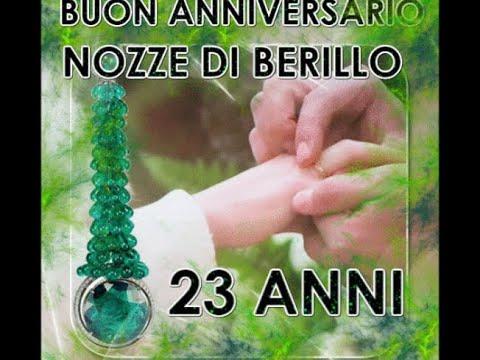 Anniversario Di Matrimonio 23 Anni.Buon Anniversario Nozze Di Berillo 23 Anni Di Matrimonio