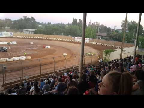 Placerville Speedway Big Trophy night. Late model a main part 1 HD