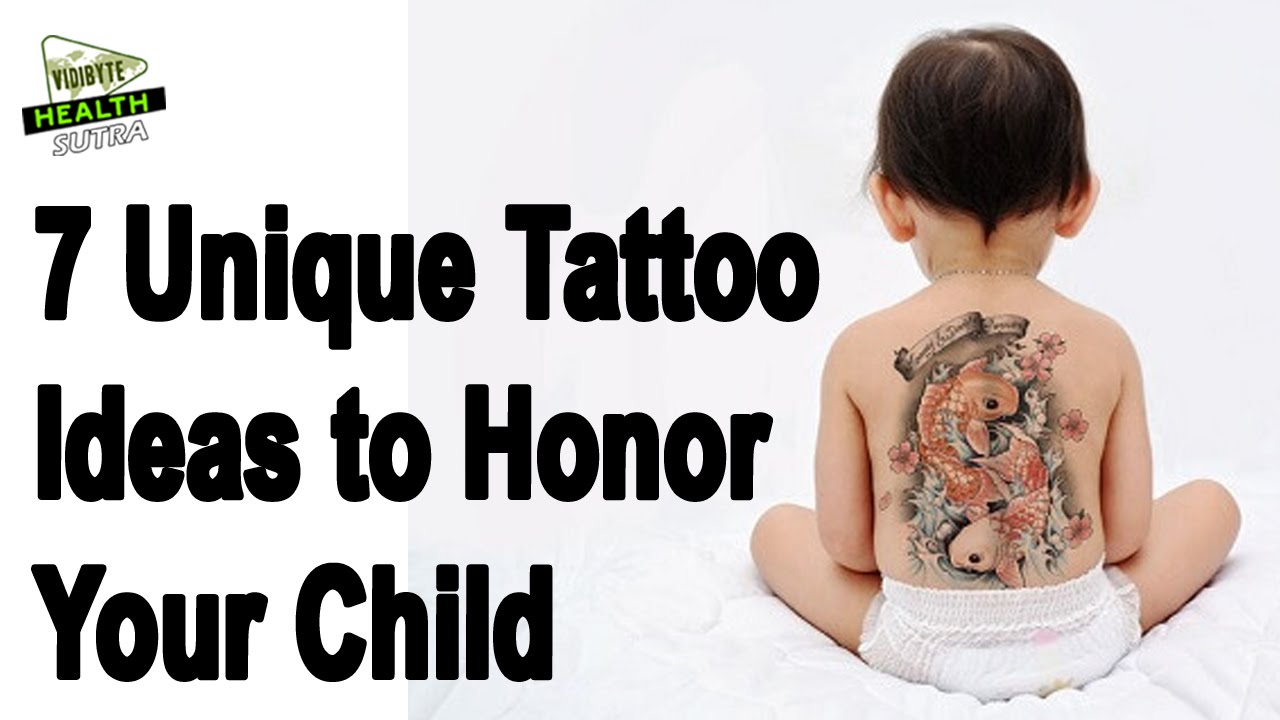 7 Unique Tattoo Ideas To Honor Your Child Youtube