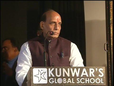 Shri Rajnath Singh inaugural speech at Kunwar Global School in Lucknow (Uttar Pradesh) on 13-01-2015