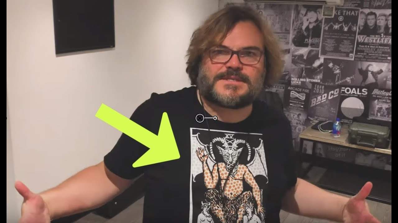 JACK BLACK CAN DO THIS AND NO ONE SEEMS TO CARE....