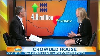 Eliane Miles on the Today Show: Population Boom