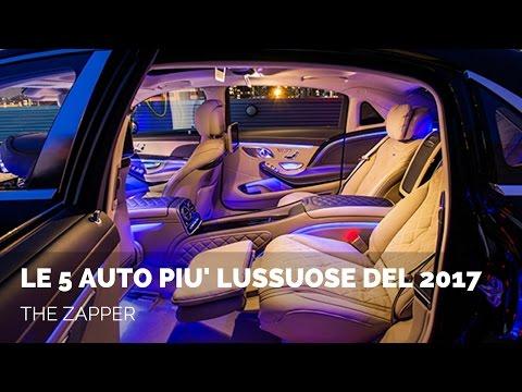 Le 5 AUTO più LUSSUOSE del 2017 | The Zapper
