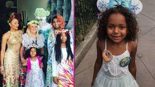 Mel B's Daughters {Phoenix Gulzar | Angel Murphy Brown & Madison Brown Belafonte} : 2017