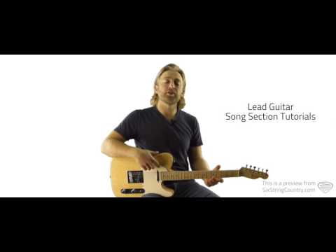 Some Beach - Blake Shelton - Guitar Lesson and Tutorial