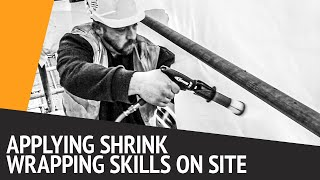 Scaffold Shrink Wrap Training in 60 seconds