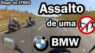 Assalto de Uma BMW - Diego da XT660