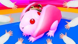 СИМУЛЯТОР Маленького ХОМЯЧКА или Морской свинки #3 Кид в ROBLOX играет в милых мышей и стал Львом