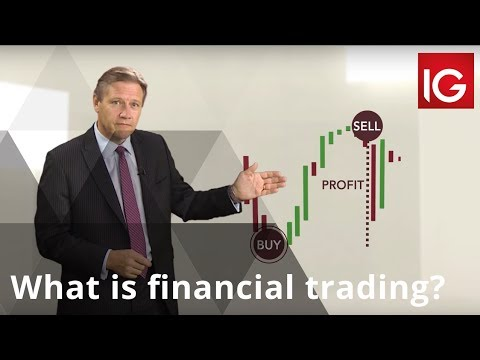 What is financial trading?
