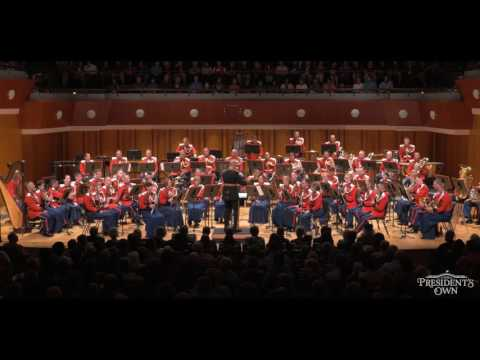 "BERNSTEIN Profanation from Symphony No. 1  - ""The President's Own"" U.S. Marine Band - Tour 2016"