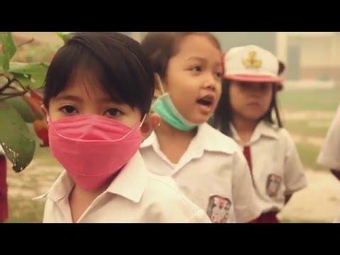 bencana kabut asap palangkaraya 2015-Haze in central Kalimantan-Smoke disaster  in indonesia