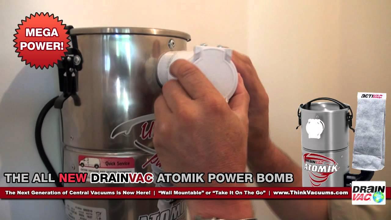 DrainVac Atomik Power Bomb