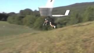 Miller flying his Fledge at LMFP