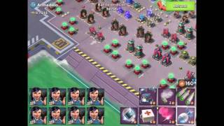 Boom Beach — Armadillo 2.1 mln, solo zookas 166/214; curtain call