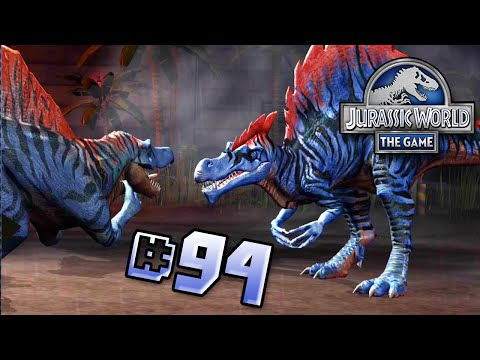 Spinosaurus Event! || Jurassic World - The Game - Ep 94 HD