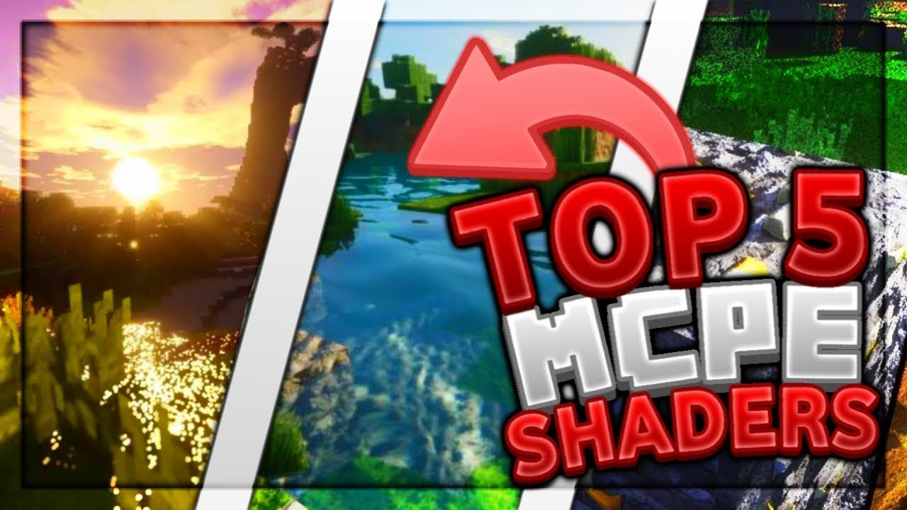 Top 5 Best MCPE Shaders 2019 1 12+/ Minecraft PE (Pocket Edition, Xbox,  Windows 10)