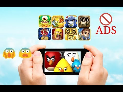 HOW TO PLAY MOBILE GAMES WITH NO ADS!!!😱 😨 😰😱 😨 😰