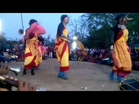 Dhananjay mahato female chhau dance...