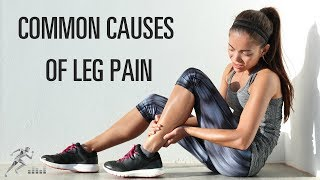 What could cause leg pain in a runner other than a stress fracture?