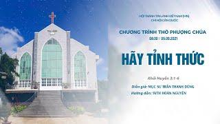 HTTL CẦN GIUỘC - Chương trình thờ phượng Chúa - 05/09/2021