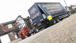 Stephen Sanderson Transport Ltd - Truck Mounted Forklift Delivery