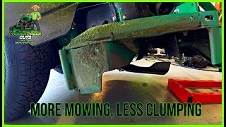 5-Minute Modification To Reduce Mower Deck Clogging
