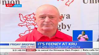 Kenya Rugby Union appoints New Zealander Paul Feeney as national technical director of rugby